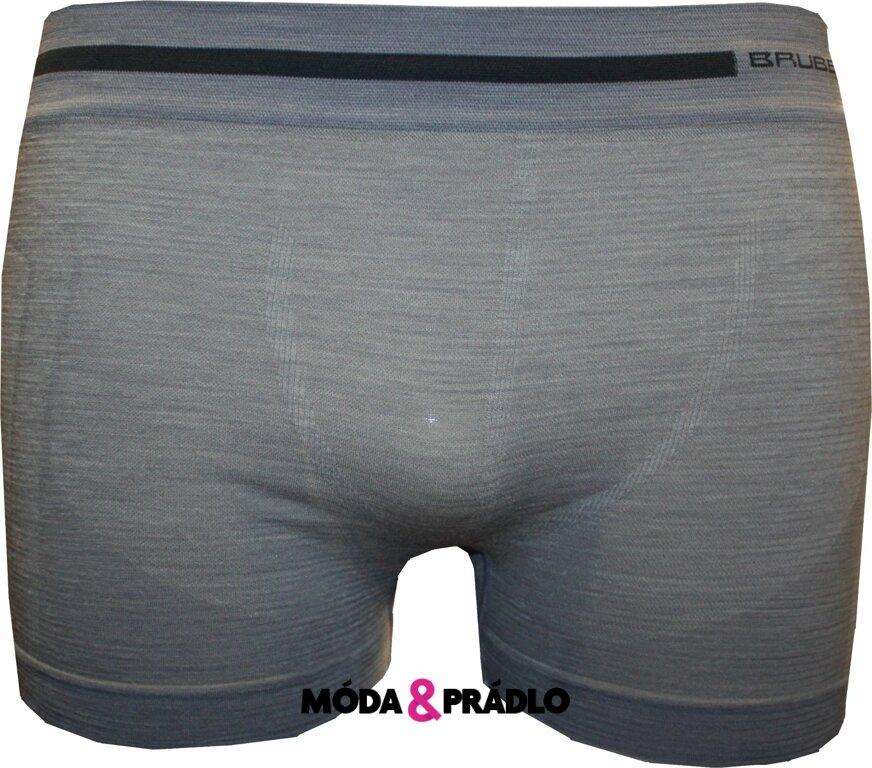 Boxerky Brubeck BX 10430 šedá - moda-pradlo.cz 5ba1d21728