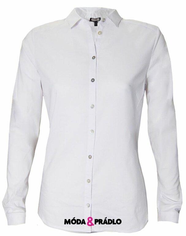 Každodenní bílá dámská košile Kenny S. 830604 - moda-pradlo.cz f0addb8fdb