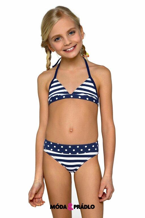 Dívčí plavky Lorin DP1 navy - moda-pradlo.cz 32efb3b940