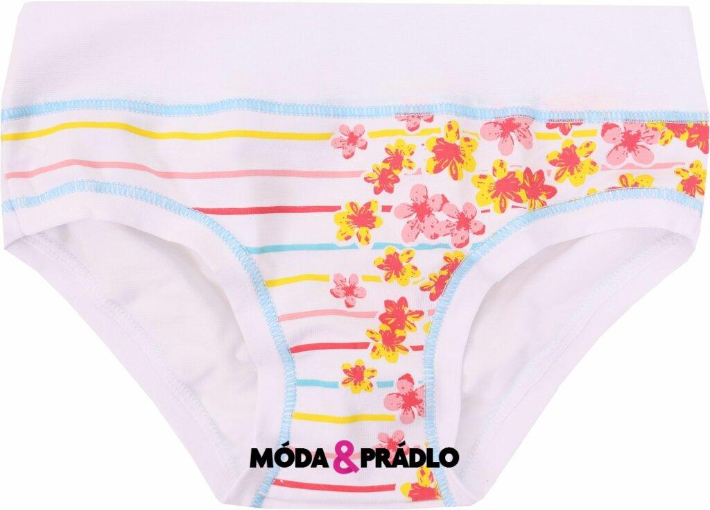 Dívčí spodní kalhotky Emy Bimba B1798 bílá - moda-pradlo.cz d6d9f0f09b