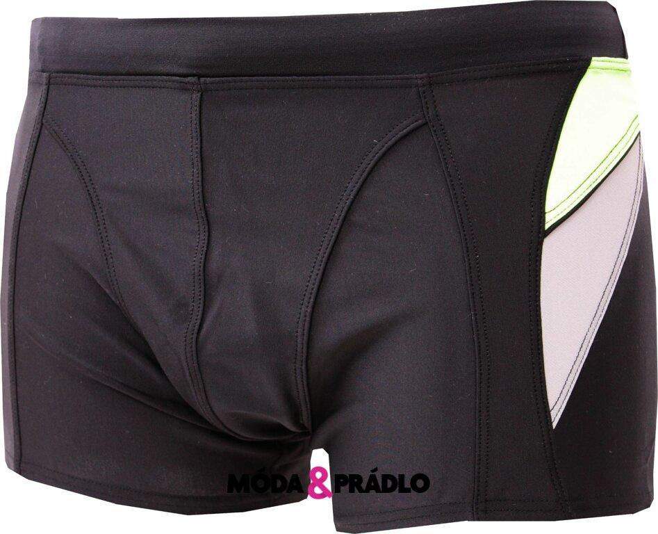 Pánské nohavičkové plavky Elasko 3823 černé - moda-pradlo.cz 1cf3095665