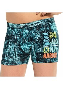 Cornette boxerky Young Game jeans