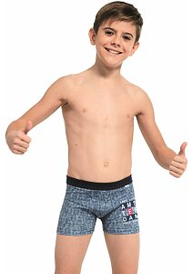 Boxerky pro kluky Cornette Young Amsterdam jeans