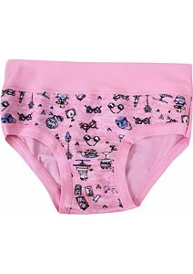 1c9dcd5fcd3 Dívčí kalhotky s obrázky Emy Bimba B 1721 růžová