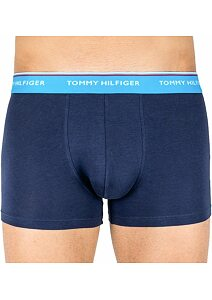 Boxerky Tommy Hilfiger Cotton Stretch UM0UM01642 navy-tyrkys