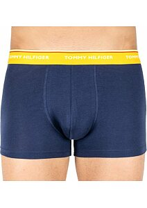 Boxerky Tommy Hilfiger Cotton Stretch UM0UM01642 navy-žlutá