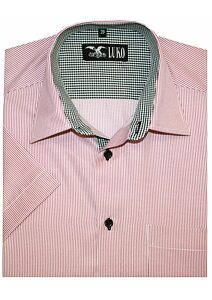 9c85b4cc0b97 Pánská košile Luko 154109 - červený pruh červený proužek